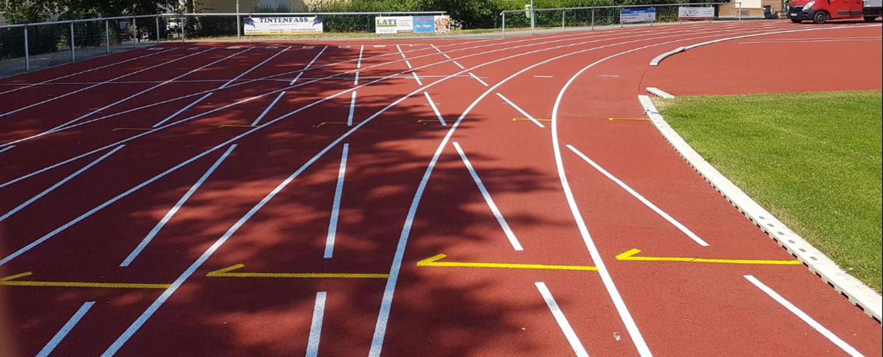 Lösungen für Sportbodenbeläge im Außen Sportbereich.